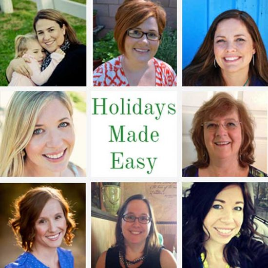 Holidays Made Easy Bloggers = illistyle.com