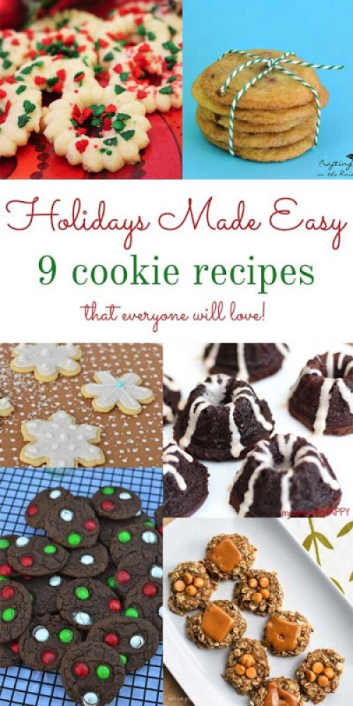 Holidays Made Easy Blog Series Bloggers Cookie edition.