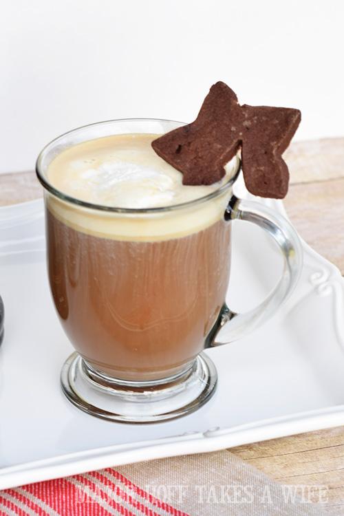 christmas latte hot buttered latte