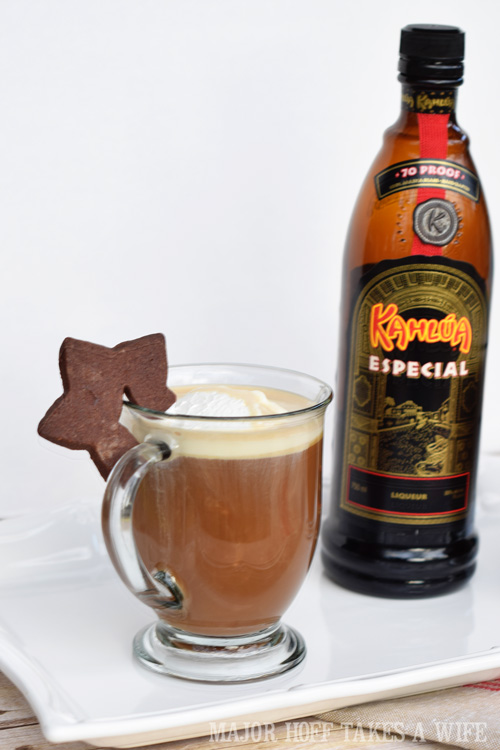 Hot Buttered Coffee with Kahlua