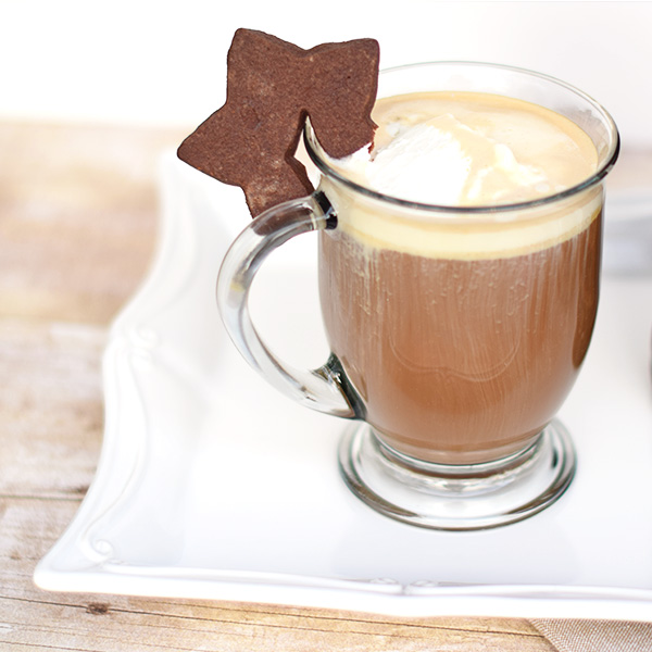 Hot buttered Latte with Kahlua Holidays Made Easy