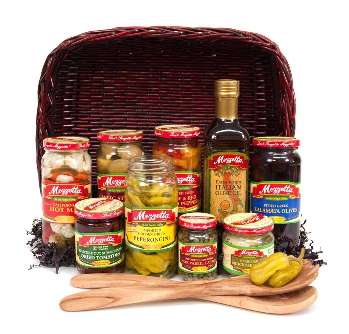 Mezzetta 2014 Holiday Basket giveaway