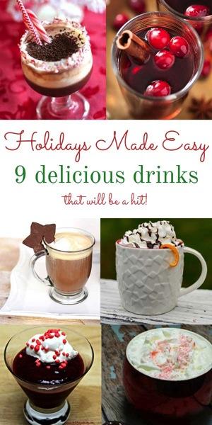 Holidays Made Easy 9 Drink Recipes
