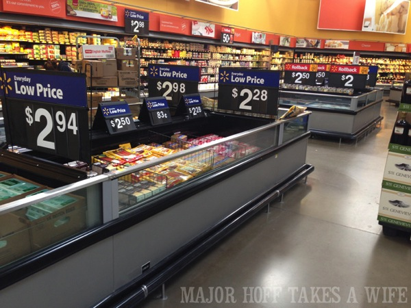 Where to find Nestle Dark Chocolate Peppermint cookie dough in Walmart