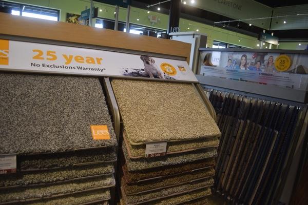 Carpet One Lee's Offerings.