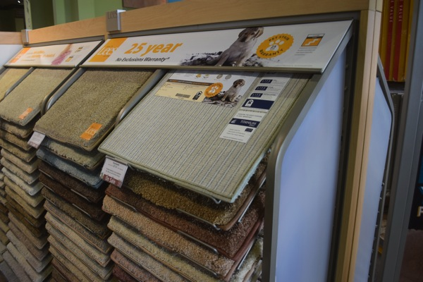 Lee's Carpet selection at Carpet One