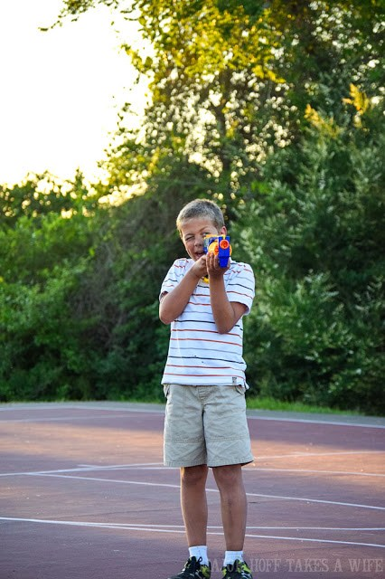 Beat the summertime blues with a game of Nerf War.
