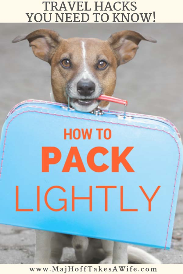 Travel packing hacks EVERYONE needs to know! Travel tips for packing luggage using travel packing bags, luggage choices, and gadgets for your electronics. Don't leave home without reading this post! All the hacks are brought to you by a world traveling mama who flies overseas with only a carry on & personal item -- and who has NEVER been charged for overweight luggage!!!!!! via @mrsmajorhoff