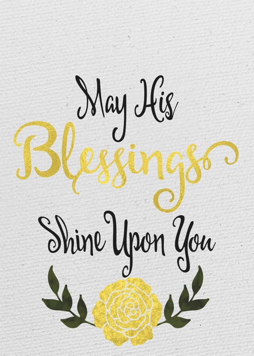 Blessings Shine