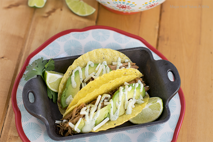 Easy pork tacos recipe