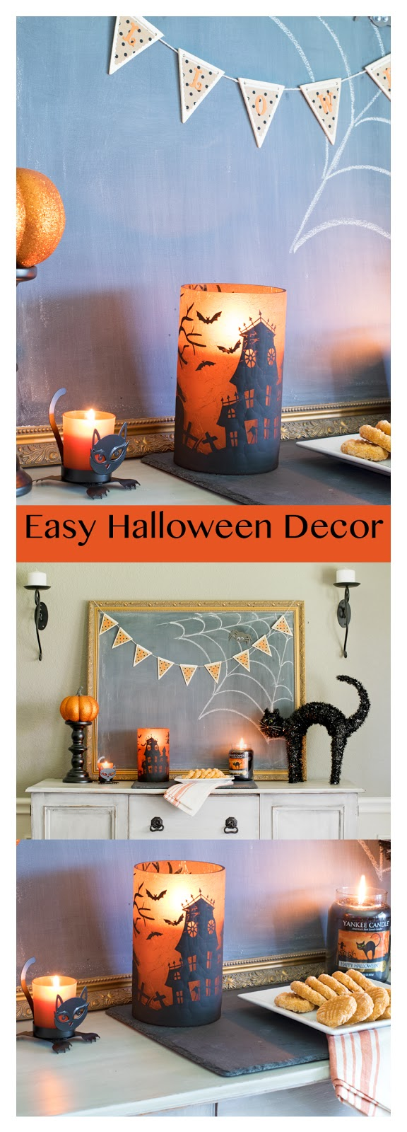 Easy Halloween Decor by Major Hoff Takes A Wife