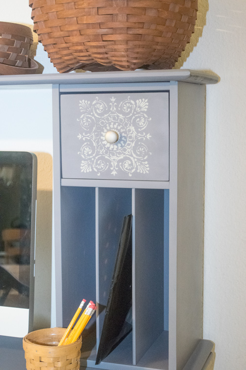 Geometric drawer