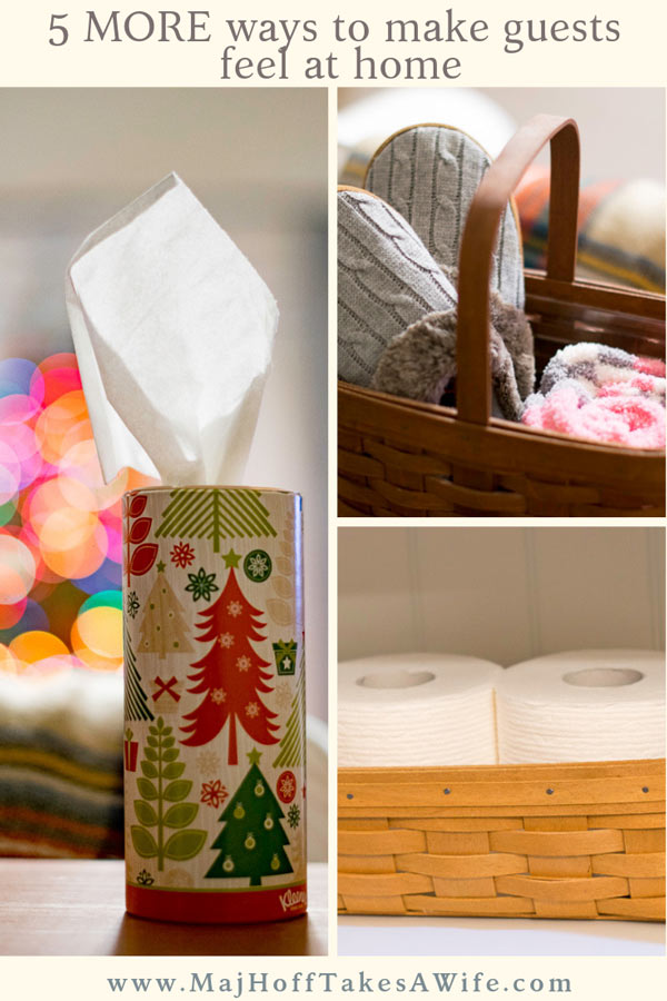Last year, I wrote a very popular post about welcoming your overnight guests for the holiday season. This year I decided to expand on this idea and have it cover all your holiday guests. Whether they are little kids or adults, overnight or just dropping by, here are the essentials you need to make them feel at home! via @mrsmajorhoff
