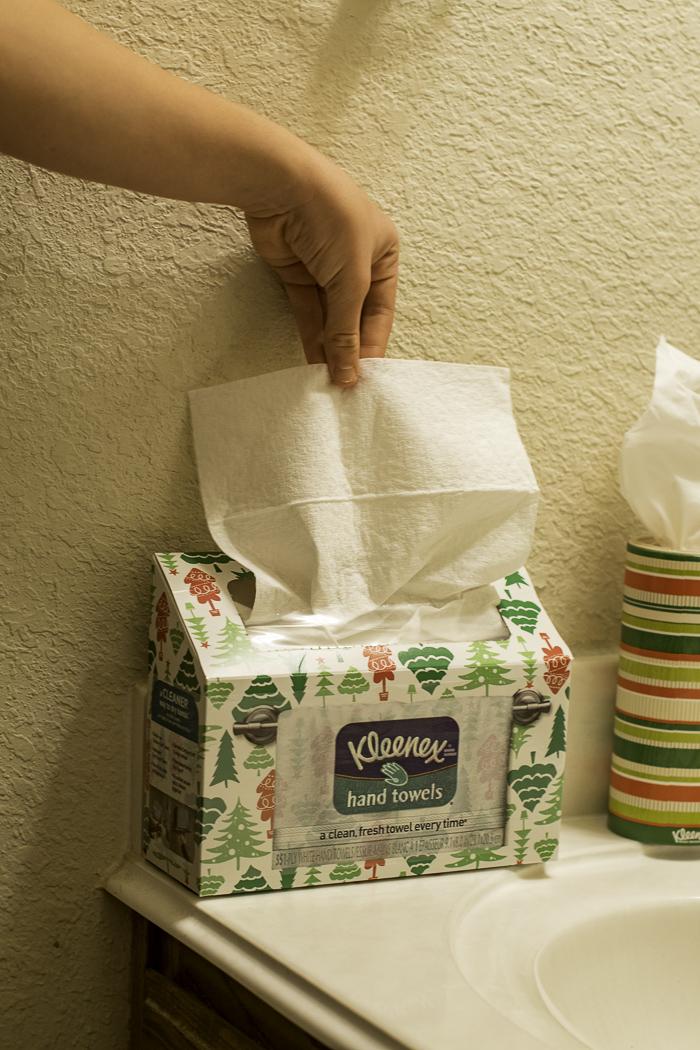 Kleenex hand towles
