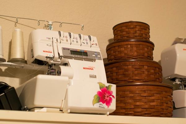 Craft room sewing studio 1