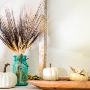 Crafting a Fall Mantel with Cricut