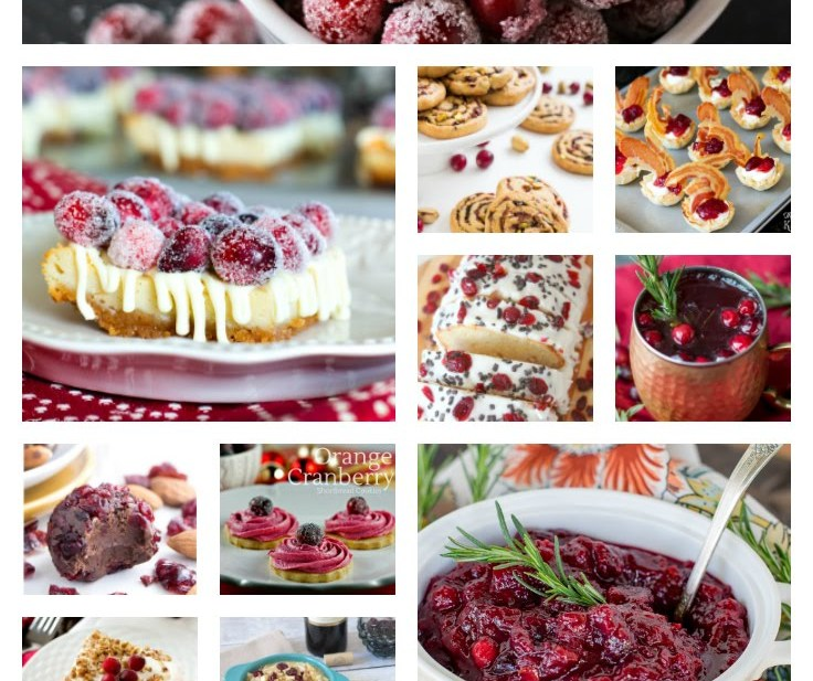 100 plus cranberry recipes