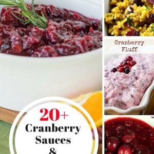 20 Cranberry Sauces & Side Dishes