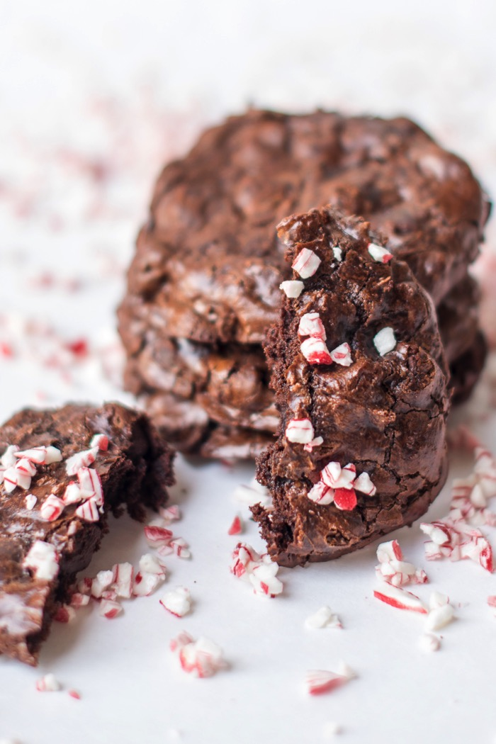 flourless chocolate cookies for a gluten free Christmas treat