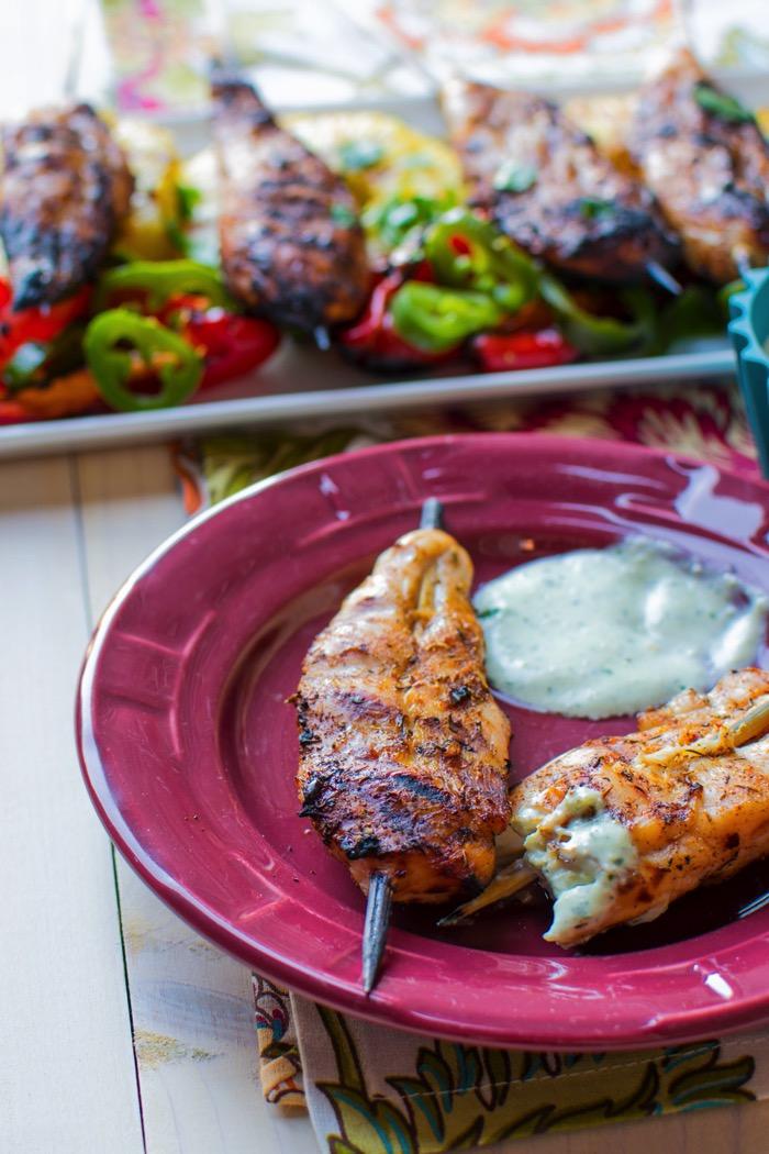 Aioli Dip for Chicken Skewers