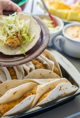 Chicken Strip Taco with Queso-37