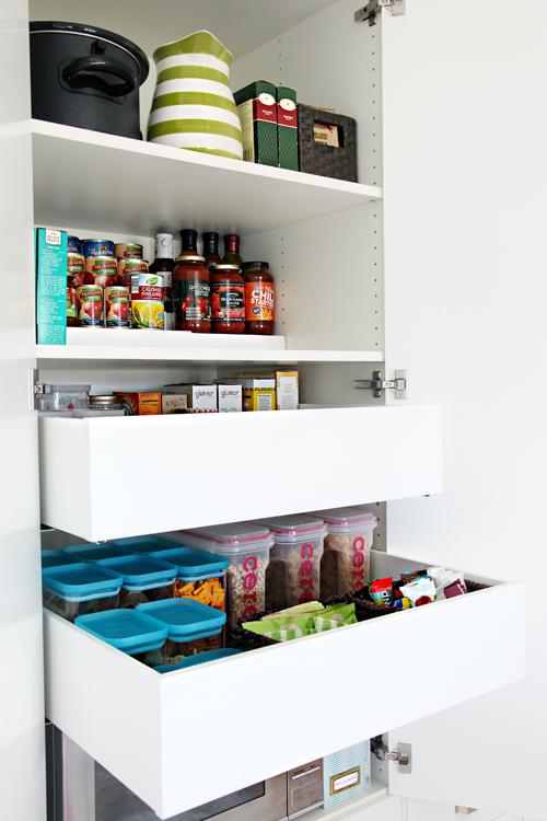 IKEA Pantry Organization Drawer Iheartorganizing
