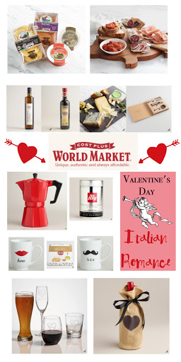 Romantic Italian Valentine's Day Dinner Ideas and More! #ad #WorldMarketTribe Gift Ideas | Italian food