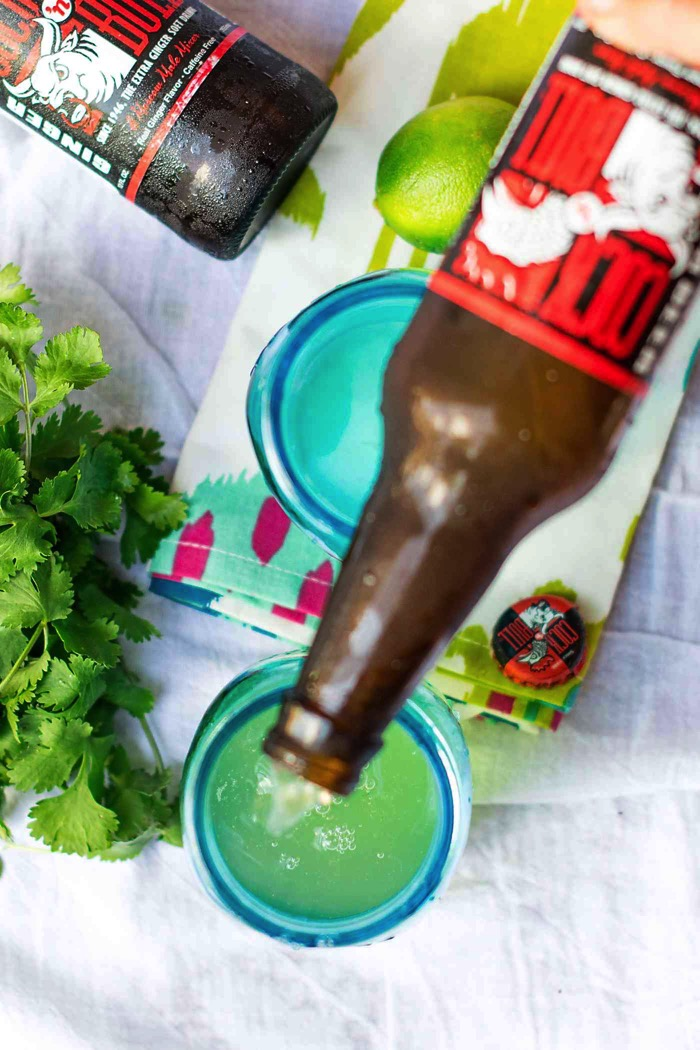 Ginger beer for a moscow mule
