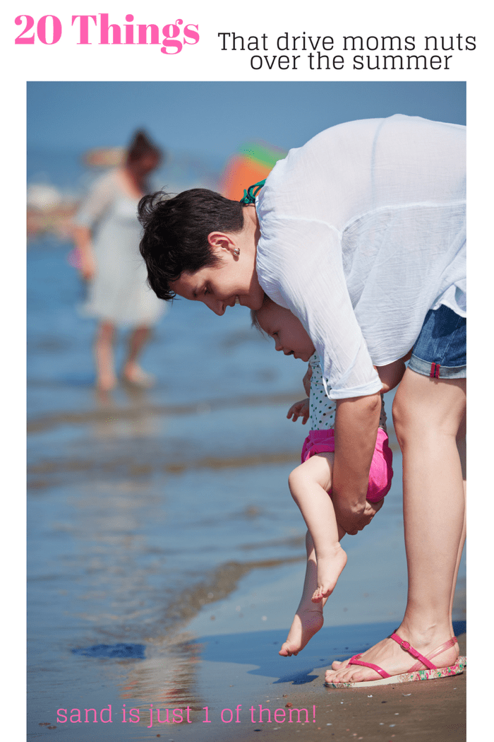 20 Things that drive moms nuts over the summer! Those little things that make us want to go bonkers! via @mrsmajorhoff