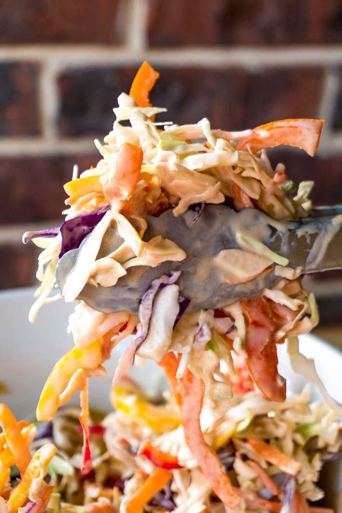 Grilled PorkTenderloin Sandwich with Balsamic Pepper Coleslaw 105
