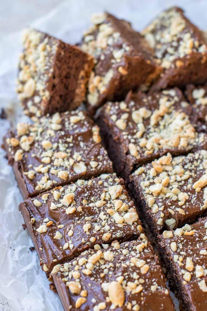 Peanut Butter Pretzel Brownies 3