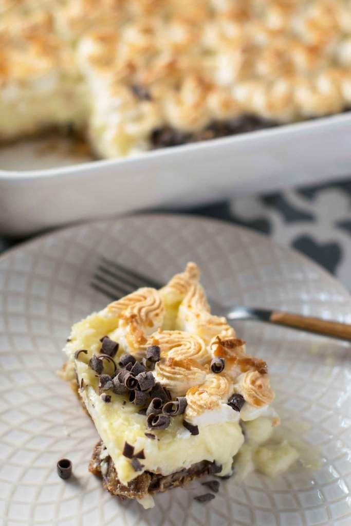 coconut cream cookie bars