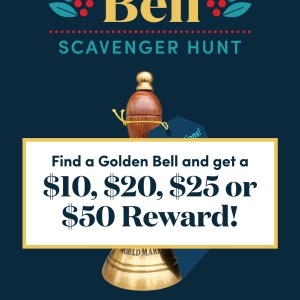 Golden Bell at World Market Holiday 2018