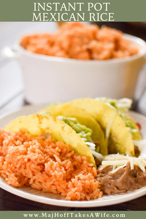 Mexican rice in the instant pot