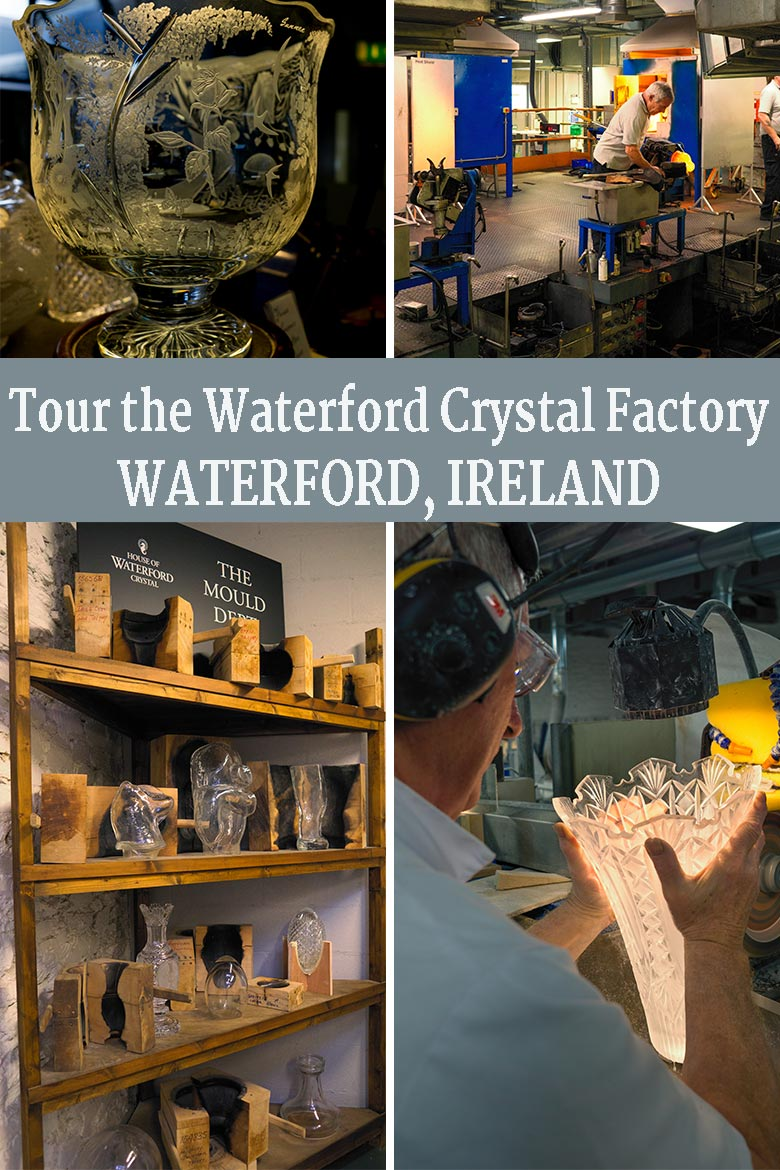 If you're planning a trip to Waterford in Ireland's Ancient East, You'll want to add a visit to the House of Waterford Crystal Factory. Get up close to see glass blowing, crystal cutting and engraving and so much more! See everything you'll see on the tour, where to stay and how to get there in this informative post! via @mrsmajorhoff