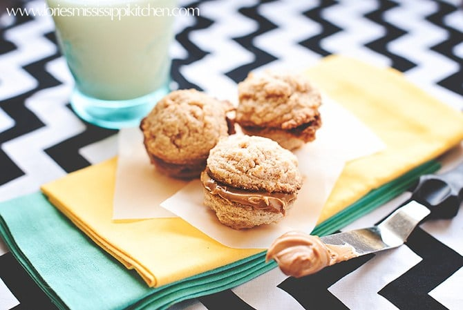 soft and chewy Biscoff Sandwich Cookies