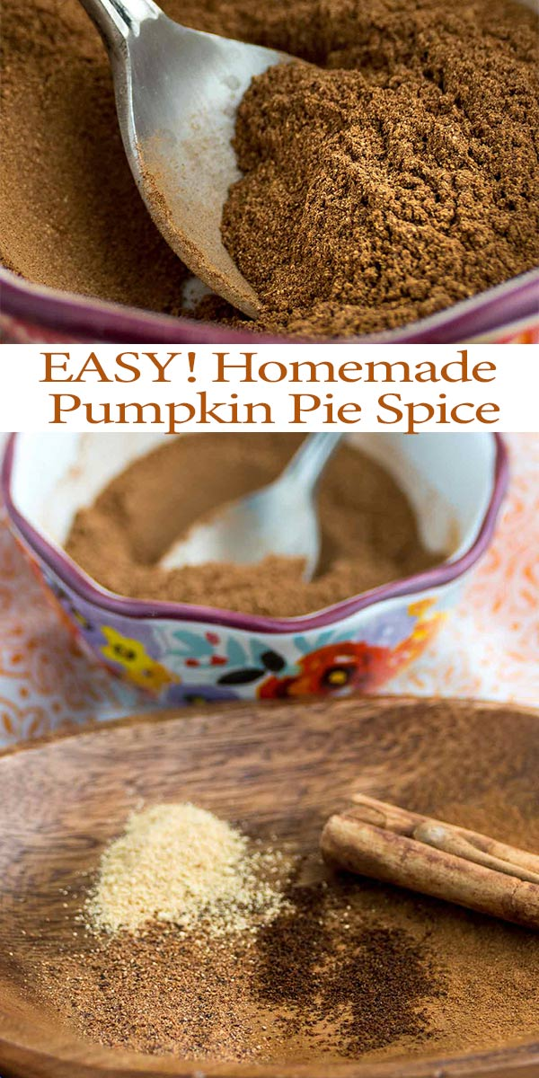 Learn the EASY DIY way to make homemade pumpkin pie spice. This recipe is a favorite and has so many uses for desserts like cookies, cake mixes, and even coffee! See all the handy recommendations on what to do with the spice combo and pick the one you like the best! via @mrsmajorhoff