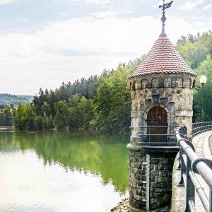 Harcovská Dam turret