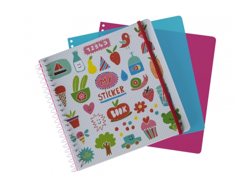 Sticker book Imagier rigolo Majolo