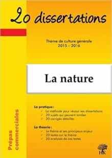 20 dissert nature