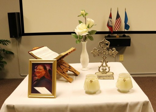 Memorial Service for chapter member Melissa Huntley