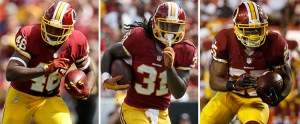 Redskin running backs had themselves a day against the Saints (Image from espn.com)