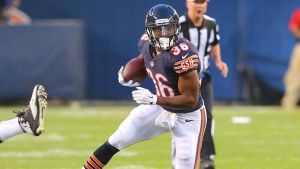 Jeremy Langford impressed in his first NFL start (image from foxsports.com)