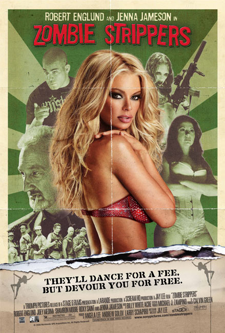 Jenna Jameson in Zombie Stripper