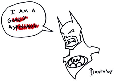 The Gosh Darned Batman
