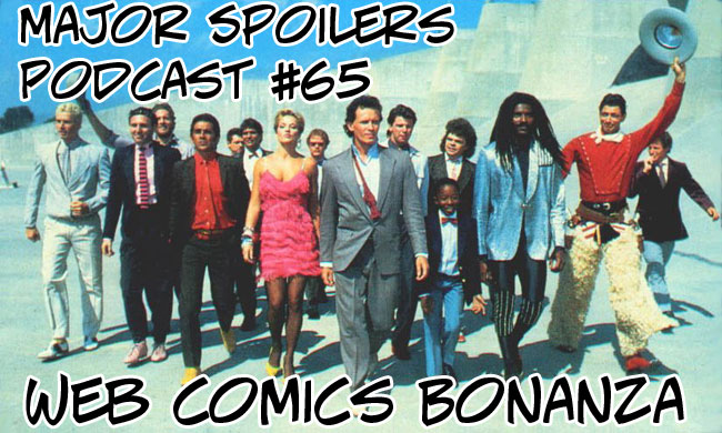 Major Spoilers Web Comic Bonanza