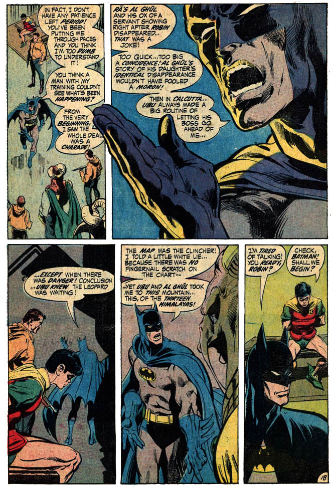 Retro Review Batman 232 June