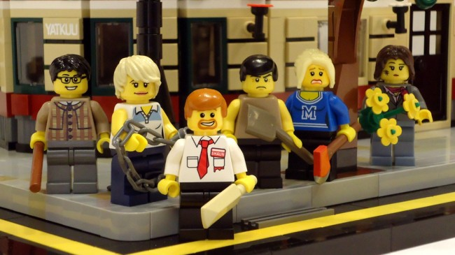 Shaun of the Dead- Minifigs