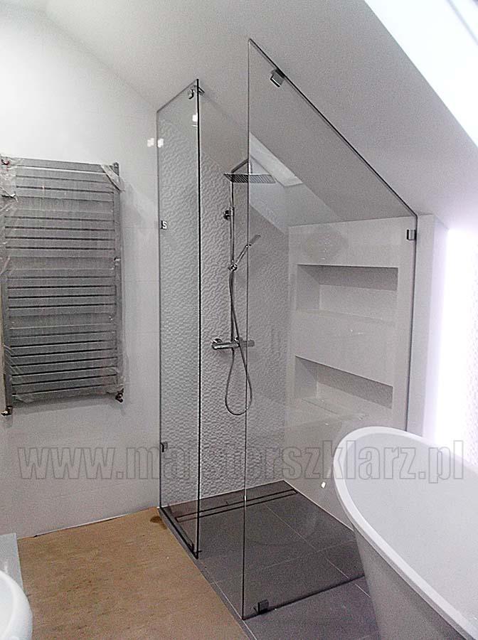 ścianki szklane do łazienki