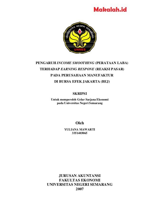 Contoh Judul Skripsi Hukum Perdata Empiris